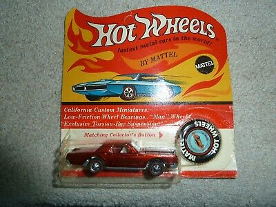 $ CDN365.42 • Buy Vintage Hot Wheels Redline Continental Mark III With Blister Pack And Button