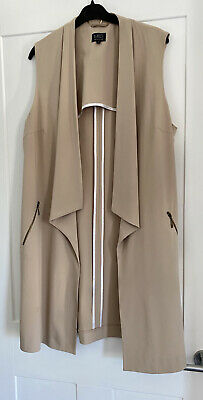 £5.60 • Buy Taupe Colour Long Summer Waist Coat From M&S