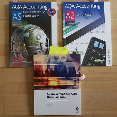£19.99 • Buy Nelson Thornes' AQA Accounting AS/A2 & Osborne's Question Bank Books Bundle