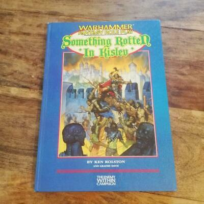 £56.64 • Buy WFRP Something Rotten In Kislev Warhammer Fantasy Roleplayning Enemy Within Camp