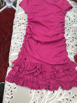 £3.95 • Buy Ralph Lauren Polo Girls Dress Fit Age 6 Used But In Good Condition