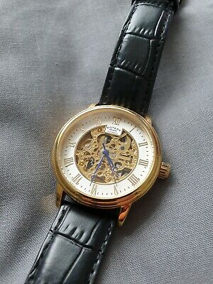 £50 • Buy Rotary Mens Automatic Skeleton Watch GS00309