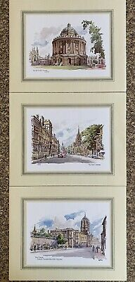 £1.50 • Buy 3 Colour Prints Of Oxford. Radcliffe Camera, High St, Christ Church College. New