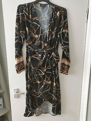 £2.50 • Buy Lipsy Wrap Dress 12 Excellent Condition