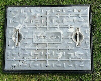 £10 • Buy Manhole Cover & Frame 450 X 600 10 Tonne Galvanised Steel Access Inspection