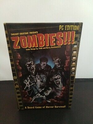 £22 • Buy Zombies !!! PG Edition Board Game Of Horror Survival
