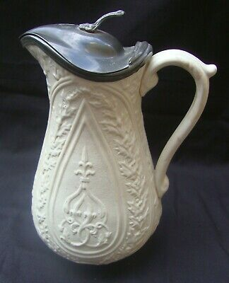 £18 • Buy Antique Victorian Jug With Pewter Lid