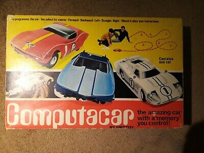 £22 • Buy Vintage Mettoy Electronic Toy Computacar Model FORD GT40 Hong Kong