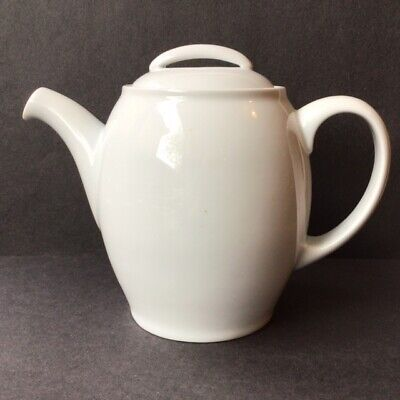 £37 • Buy Denby Brand NEW White China TEAPOT 1.1/2pt First Quality UNUSED NEW