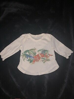 £5 • Buy Stella Mccartney Baby Tiger Top Size One Month