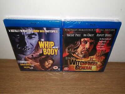 £14 • Buy The Whip And The Body & Witchfinder General Blu Ray Horror Movies Films