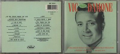£3.99 • Buy VIC DAMONE - The Best Of The Capitol Years - 1989 CD Album    *FREE UK POSTAGE*