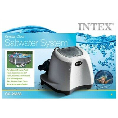 £299.99 • Buy Intex 26668 Krystal Clear Saltwater 230v System for Above Ground Swimming Pool