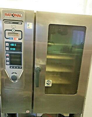 £1495 • Buy Rational CPC10 Electric Combi Steam Oven Self Wash System