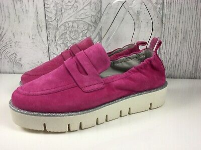 £19 • Buy Kennel & Schmenger Cleasby Pink Suede Loafer Size 36 Uk 3 RRP £239