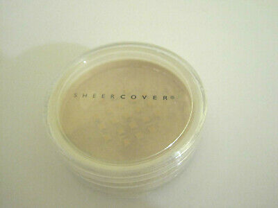 £7.08 • Buy Sheer Cover BUFF Mineral Foundation 1.5 G Travel Purse Size New Sealed Rare!