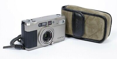 $ CDN571.48 • Buy Contax TVS 28-56mm T* Carl Zeiss Lens 35mm Point And Shoot Film Camera (TESTED)