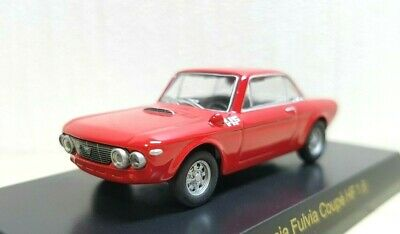 £22.83 • Buy 1/64 Kyosho LANCIA FULVIA COUPE HF 1.6 RED Diecast Car Model