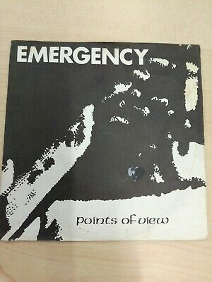 £5.50 • Buy 7  Vinyl EP. Emergency - Points Of View. RIOT 21. 1983