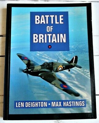 £0.99 • Buy Battle Of Britain (Len Deighton & Max Hastings) (SIGNED BY???)