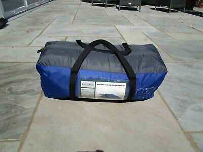 £70 • Buy Pro Action 6 Man 2 Room Camping Tent Blue (Used Once)