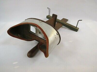 £42.44 • Buy Antique Stereo Viewer With 27 Cards See Pics!