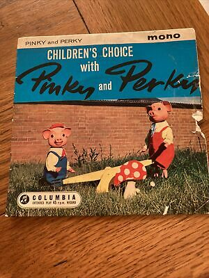 £1.10 • Buy PINKY AND PERKY (CHILDRENS) Children's Choice With 7 INCH VINYL UK Columbia 1960