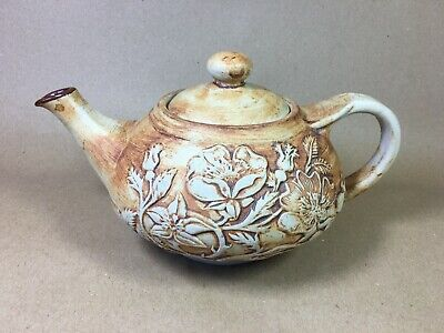 £8 • Buy QUANTOCK POTTERY LARGE TEAPOT 10-inch Handle To Spout - 6-inch Tall See Pictures