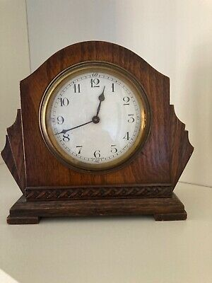 £0.99 • Buy Wind Up Clock. Wooden Surround. Made In France