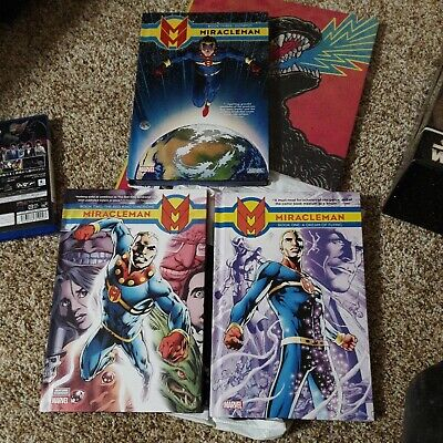 £46.14 • Buy Miracleman By Alan Moore A Dream Of Flying Red King Syndrome Olympus HC Lot Of 3