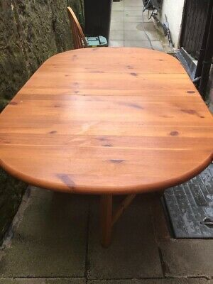 £35 • Buy Wooden Folding Dining Table And Chairs