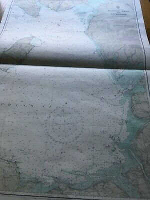 £25 • Buy Burrow Head To Liverpool Hydrographic Map