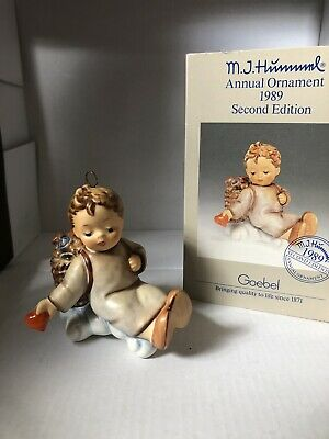 $13 • Buy M J Hummel 1989 Love From Above Second Edition Annual Ornament #283 MIB