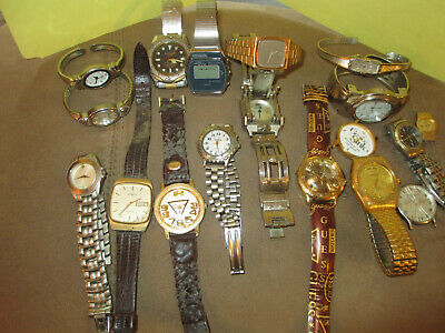 $ CDN1.04 • Buy Watch Lot Seiko Guess Movado, Gruen And Others. Total 1.84 Pounds