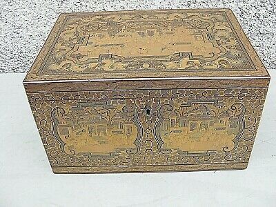 £2500 • Buy  Antique Chinese Tea Caddy Lacquered