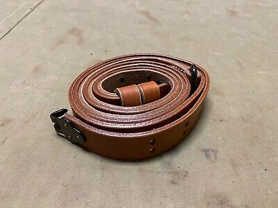 $9.95 • Buy WWII US M1 GARAND RIFLE M1907 LEATHER CARRY SLING-1 Inch