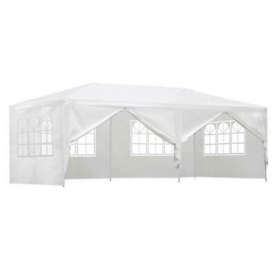 AU114.95 • Buy Instahut Gazebo 3x6m Outdoor Marquee Side Wall Party Wedding Tent Camping White