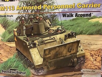 $5.25 • Buy M113 Armored Personnel Carrier - Walk Around -- Squad./Signal Publ. No. 5715 NEW