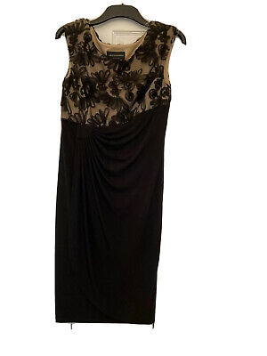 £10 • Buy TK Max  CONNECTED Black Evening Dress Size 12