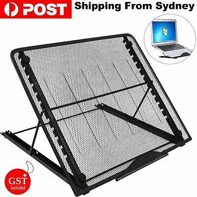 AU15.99 • Buy 1pc Laptop Stand Notebook Foldable Adjustable Table Portable Lazy Computer Desk