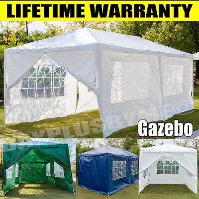 £86.46 • Buy Gazebo Marquee Party Tent With Sides Waterproof Garden Patio Outdoor Canopy