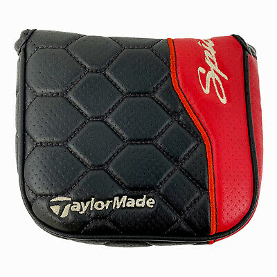£13.44 • Buy TaylorMade Spider Limited RH LH Heel Shafted Large Mallet Putter Cover Black Red