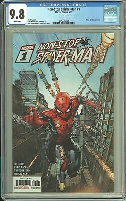 £42.95 • Buy Non-Stop Spider-Man #1 CGC 9.8 Finch Cover
