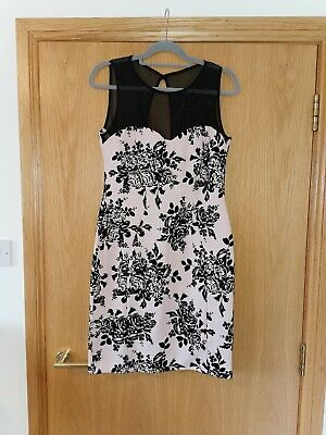 AU36.90 • Buy Amy Child's Back And Pink Floral Dress Size 14