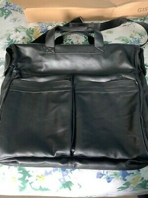 £9.99 • Buy M&S Marks And Spencer Leather-look Suit Carrier, With Pockets. * Never Used*