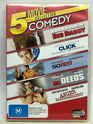 AU15.99 • Buy Adam Sandler 5 DVD Movie Collection - See Pics - AusPost With Tracking