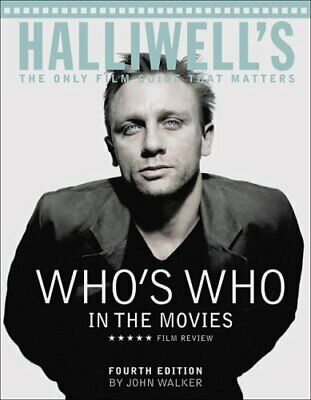£6.34 • Buy Halliwell's Who's Who In The Movies : The Only Film Guide That Ma