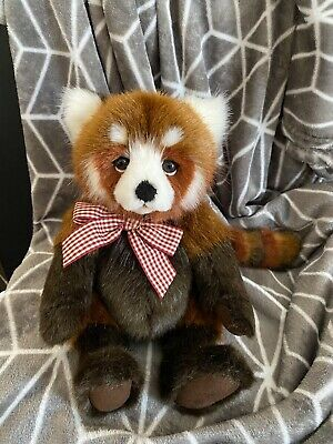 £18 • Buy Charlie Bears Truckle The Red Panda From The 2020 Bearhouse Bears Collection