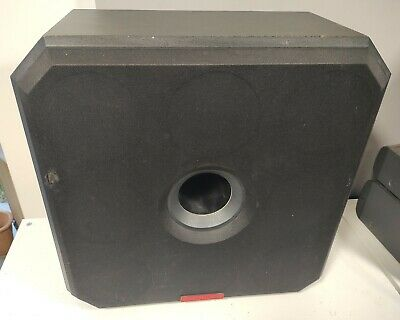 £75 • Buy B&w Solid Model Bass Station 500w Passive Subwoofer
