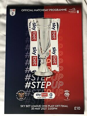 £0.99 • Buy Blackpool V Lincoln City Play Off Final 30-5-2021 Programme